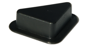 Опора треугольная пластик 15х63 мм