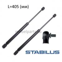 Газовая пружина Stabilus lift-o-mat L 405 мм, шарнир