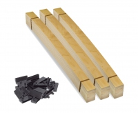 Комплект ламелей для двуспальной кровати 160х200 с боковыми держателями для металлической рамы
