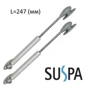 Газовая пружина для дверцы шкафа SUSPA L 247 мм