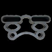35\38 Латодержатель подвесной каучуковый двойной