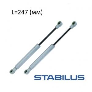 Газовая пружина Stabilus lift-o-mat L 247 мм, крепление шарнир